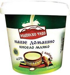 Кисело мляко РОДОПСКО ЧУДО каймак 4% 1 кг