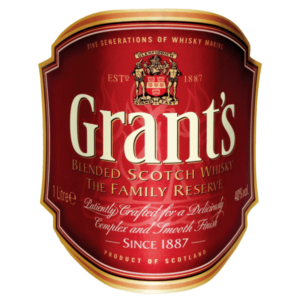 Уиски GRANTS 40% 1 л