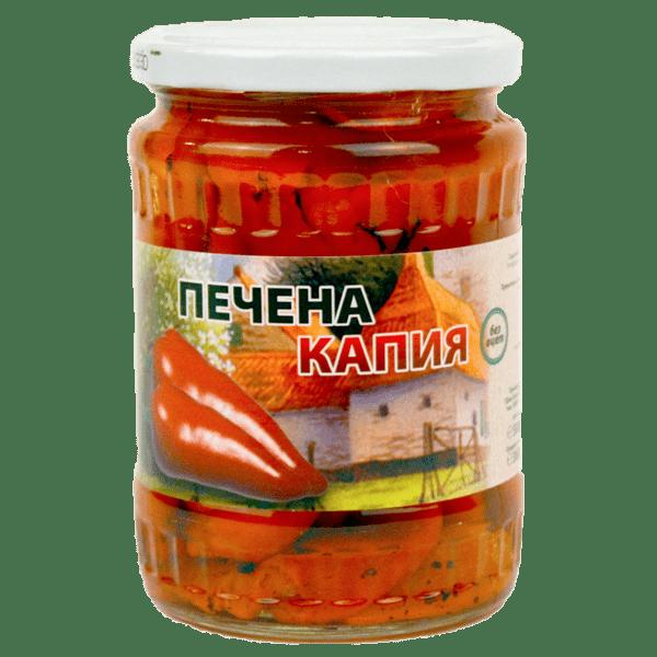 Капия РЕКОЛТА печена без оцет 680 г