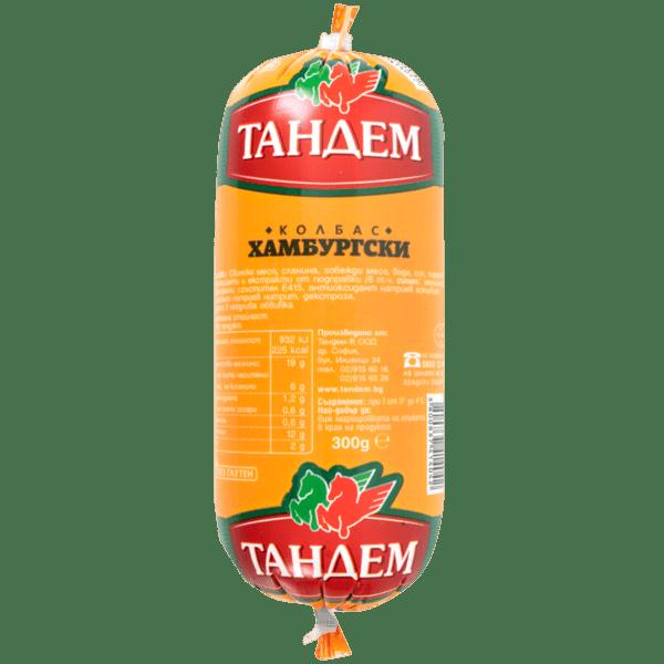 Колбас ТАНДЕМ хамбургски 300гр