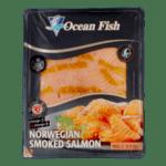 Сьомга филе слайс пушена OCEAN FISH 100гр