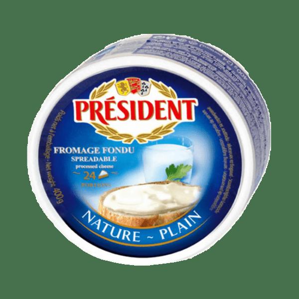 Топено сирене PRESIDENT натюр 400 г