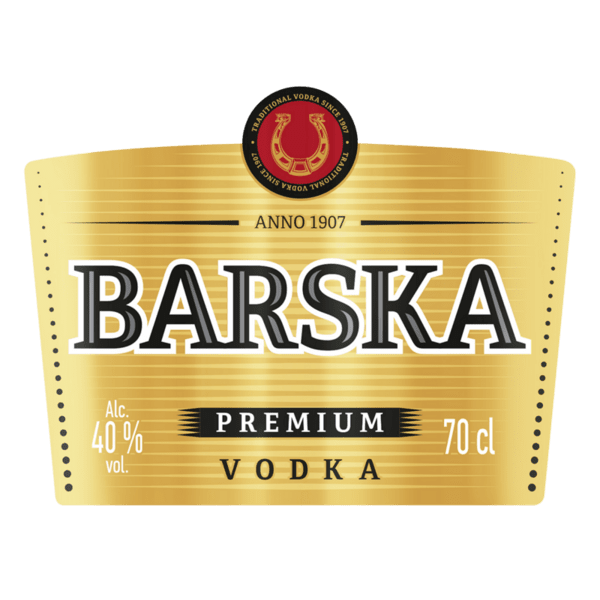 Водка BARSKA PRIMIUM 40% 700 мл