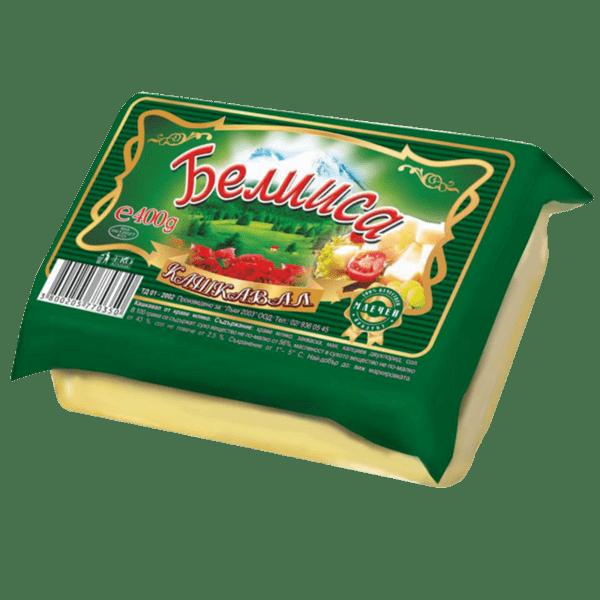 Кашкавал от краве мляко БЕЛИИСА 400 г