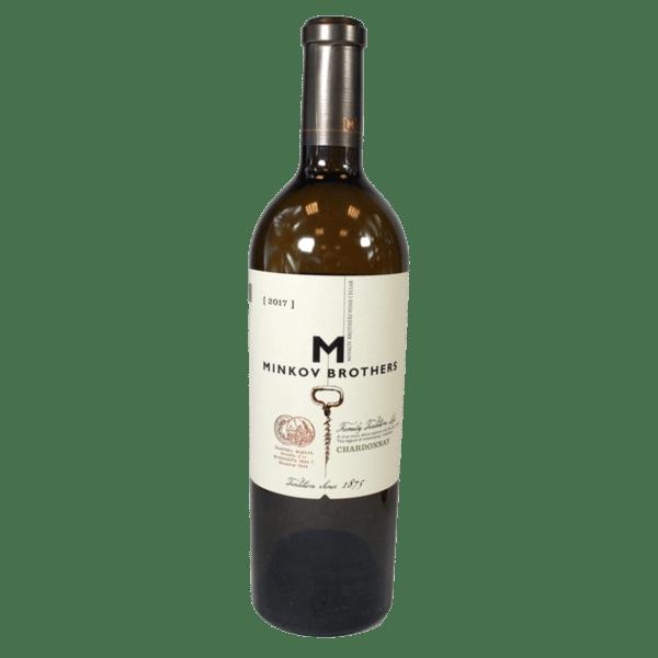 Вино MINKOV BROTHERS Шардоне 750 мл