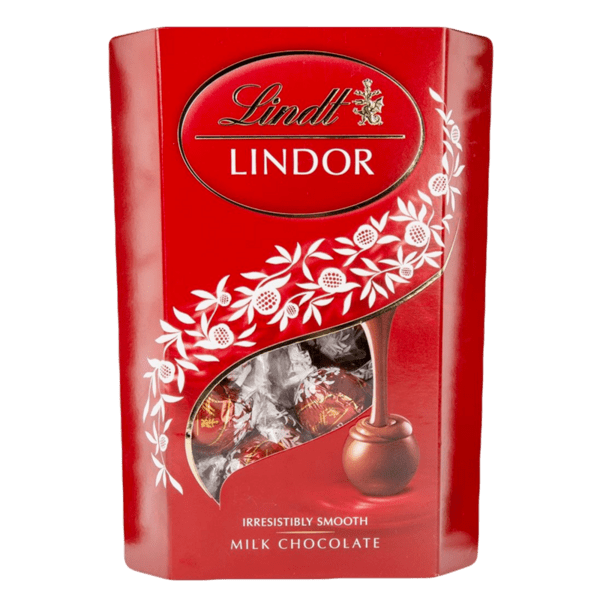 Бонбони LINDOR млечни 200 г