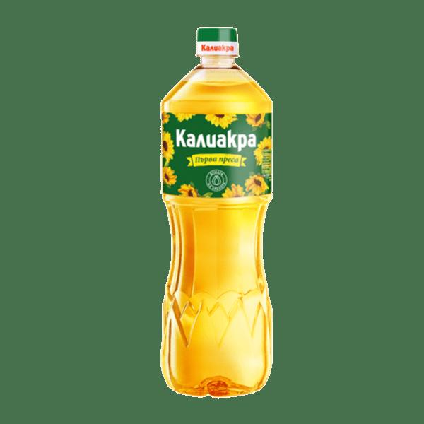 Олио КАЛИАКРА слънчогледово 1 л