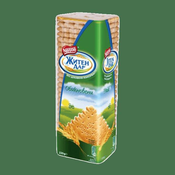 Бисквити ЖИТЕН ДАР обикновени 220 г
