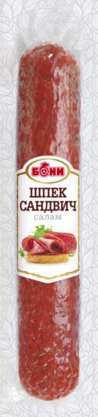 Салам БОНИ шпек за сандвичи 330гр