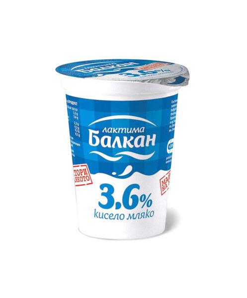 Кисело мляко БАЛКАН 3.6% 400 г