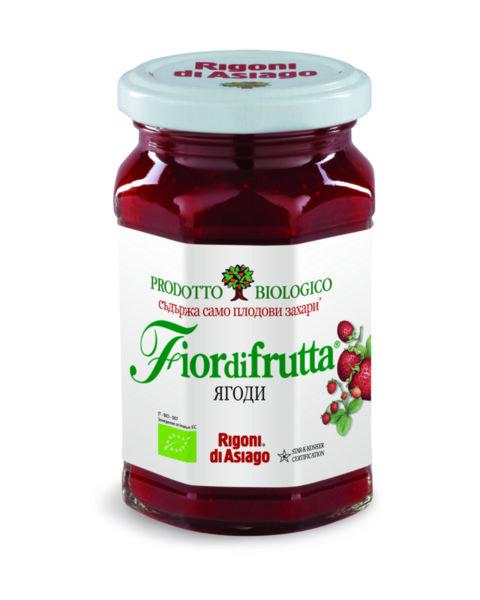 Био конфитюр FIOR DI FRUTTA ягоди 250 г