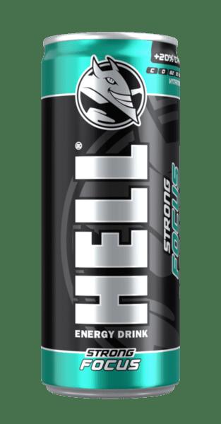 Енергийна напитка HELL Focus 250 мл