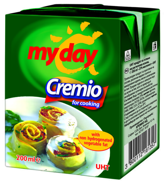 Продукт за готв. MY DAY CREMIO UHT 200 г