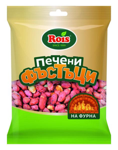 Фъстък ROIS печен едър 160гр