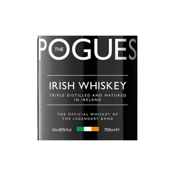 Уиски POGUES ирландско уиски 40% 700мл