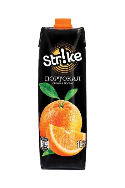Напитка STRIKE портокал 10% 1л