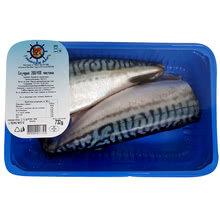 Риба Скумрия чистена без глава охл. МАП кг, охладена