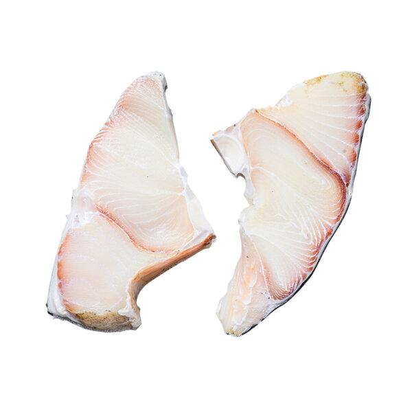 Замразена Акула стек без кожа, на грамаж