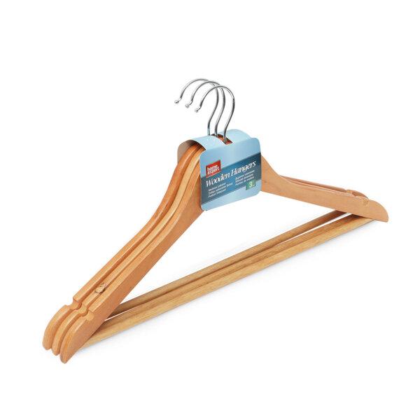 Закачалки дървени 3 бр.