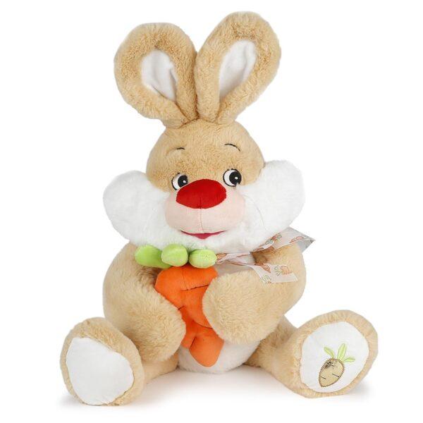 Плюшена играчка - великденски заек 30 см