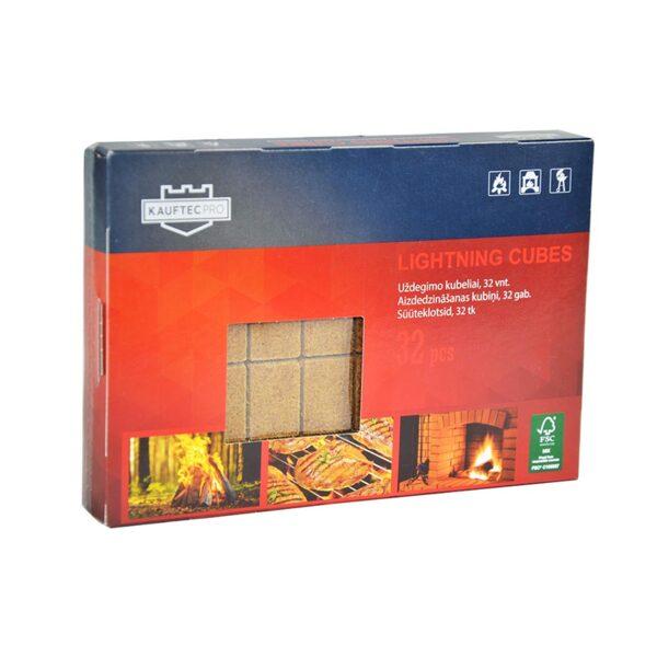 Kубчета за разпалване KAUFTEC 32 бр.