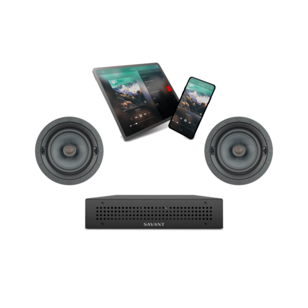 Savant IP Audio 1 with Integrated Host and Speakers