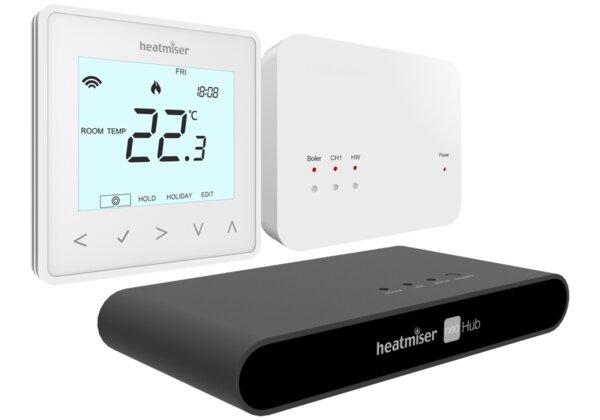Wireless Smart Thermostat Kit - Heatmiser neoAir Kit v2