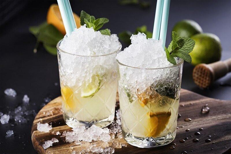 Размер на ледените кубчета за питиетата