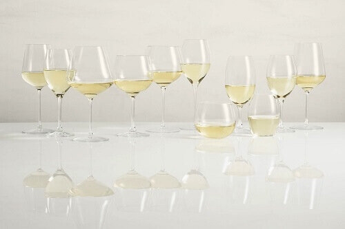 Видове чаши за бяло вино