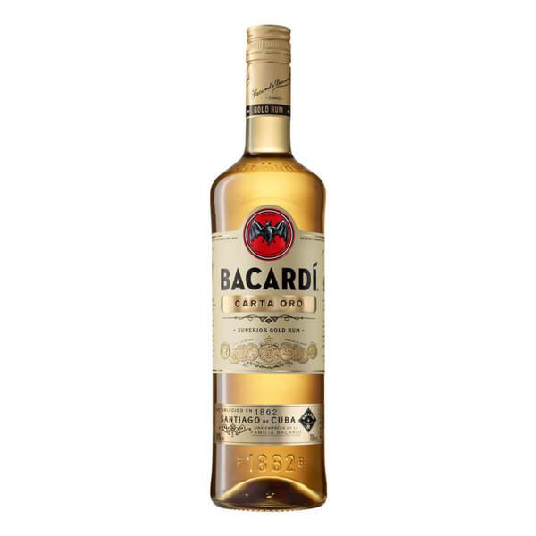 Ром BACARDÍ Carta Oro 1.0l.