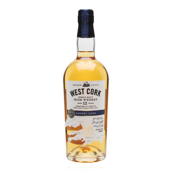 West Cork Sherry Cask 12 Y.O. 700ml.