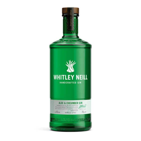 Джин Whitley Neill Алое и Краставица 700ml.