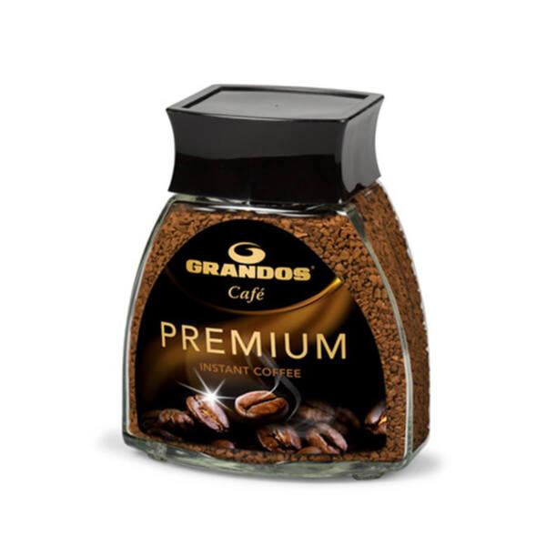 Разтворимо кафе Грандос Premium Стъклен буркан 100 гр.