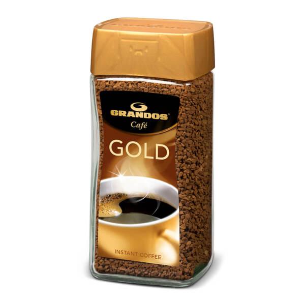 Разтворимо кафе Грандос Gold Стъклен буркан 200 гр.