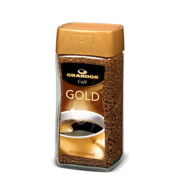 Разтворимо кафе Грандос Gold Стъклен буркан 100 гр.