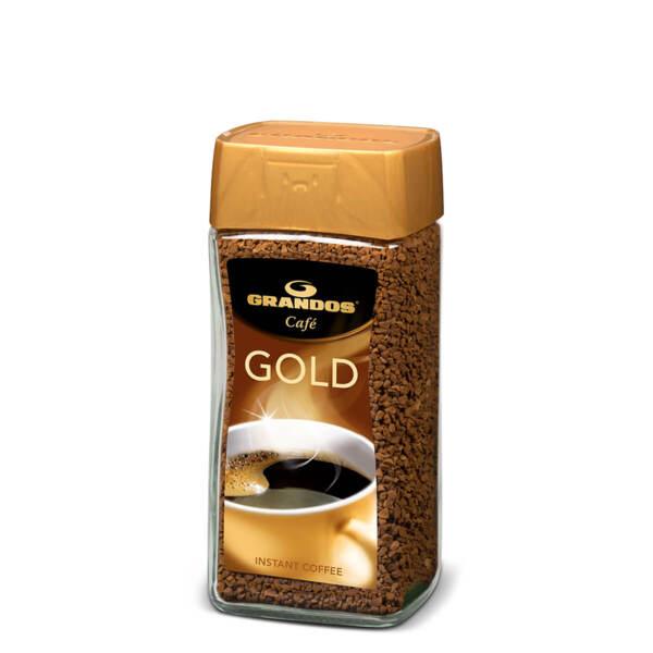 Разтворимо кафе Грандос Gold Стъклен буркан 50 гр.
