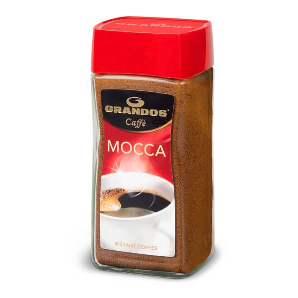 Прахообразно разтворимо кафе Грандос MOCCA Стъклен буркан 200гр.