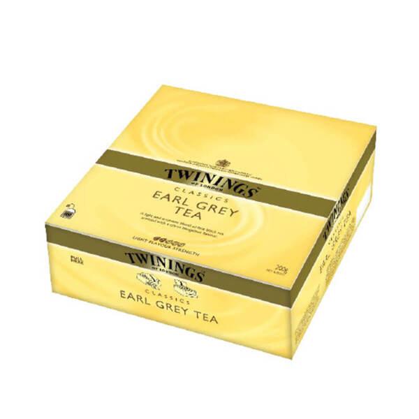 Чай Twinings Ърл Грей 100 филтър пакетчета х 2гр.