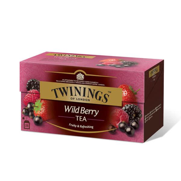 Чай Twinings Горски плодове 25 филтър пакетчета х 2гр.