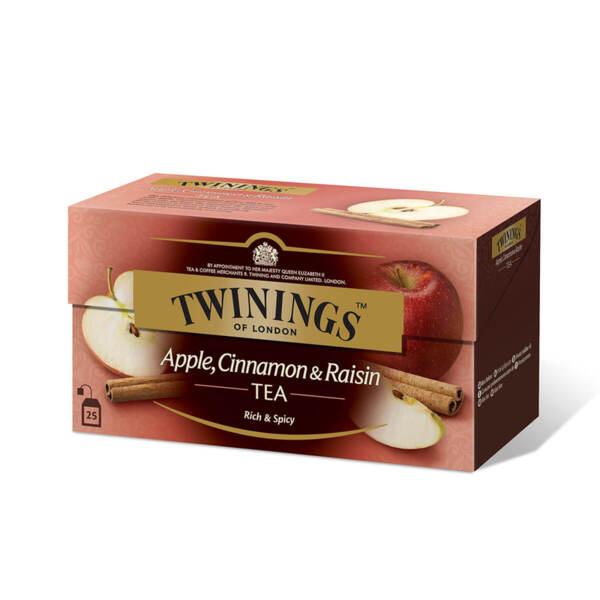 Чай Twinings Ябълка, канела и стафиди 25 филтър пакетчета х 2гр.