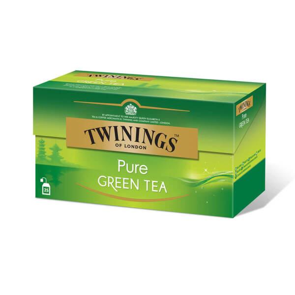 Чист зелен чай Twinings 25 филтър пакетчета х 2гр.