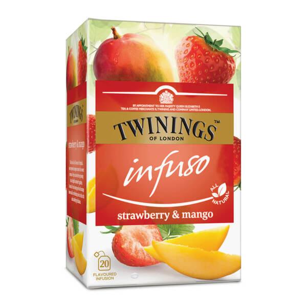 Чай Twinings Infuso Ягода и манго 20 филтър пакетчета х 1.5гр.