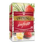Чай Twinings Infuso Ягода и ванилия 20 филтър пакетчета х1.5гр.