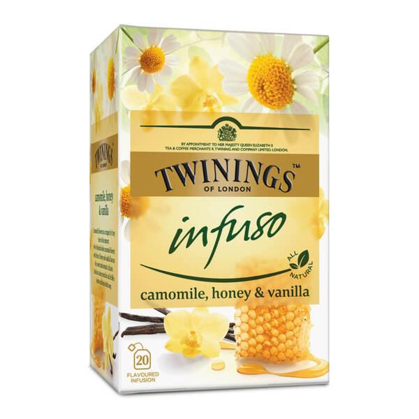 Чай Twinings Infuso Лайка, мед и ванилия 20 филтър пакетчета х 2гр.