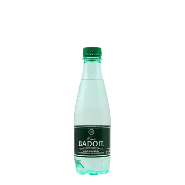 Естествено газирана минерална вода Badoit 330мл. бутилка PET