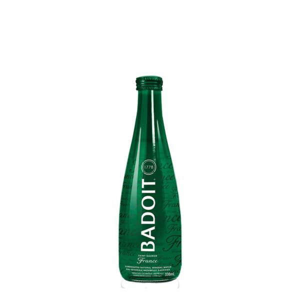 Естествено газирана минерална вода Badoit стъклена бутилка 330мл.