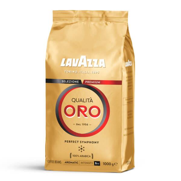 Кафе на зърна Lavazza Qualità Oro Перфектна симфония в плик 1кг.
