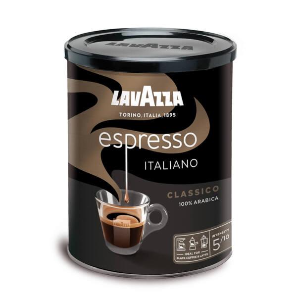 Мляно кафе Lavazza Еспресо в метална кутия 250гр.