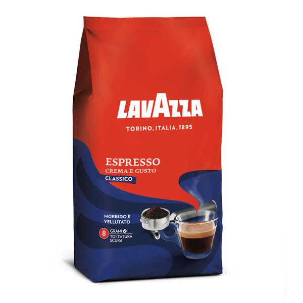 Кафе на зърна Lavazza Espresso Crema e Gusto в плик 1кг.
