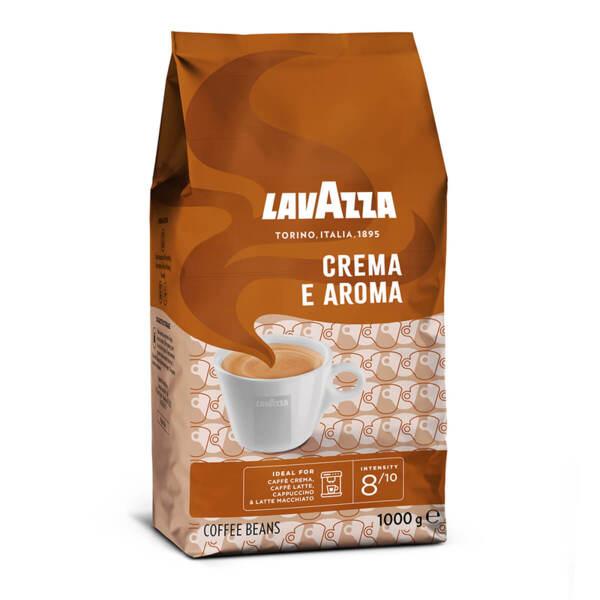 Кафе на зърна Lavazza Crema e Aroma в плик 1кг.